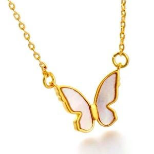 New Kate Spade  in A Flutter Pave Pendant Necklace
